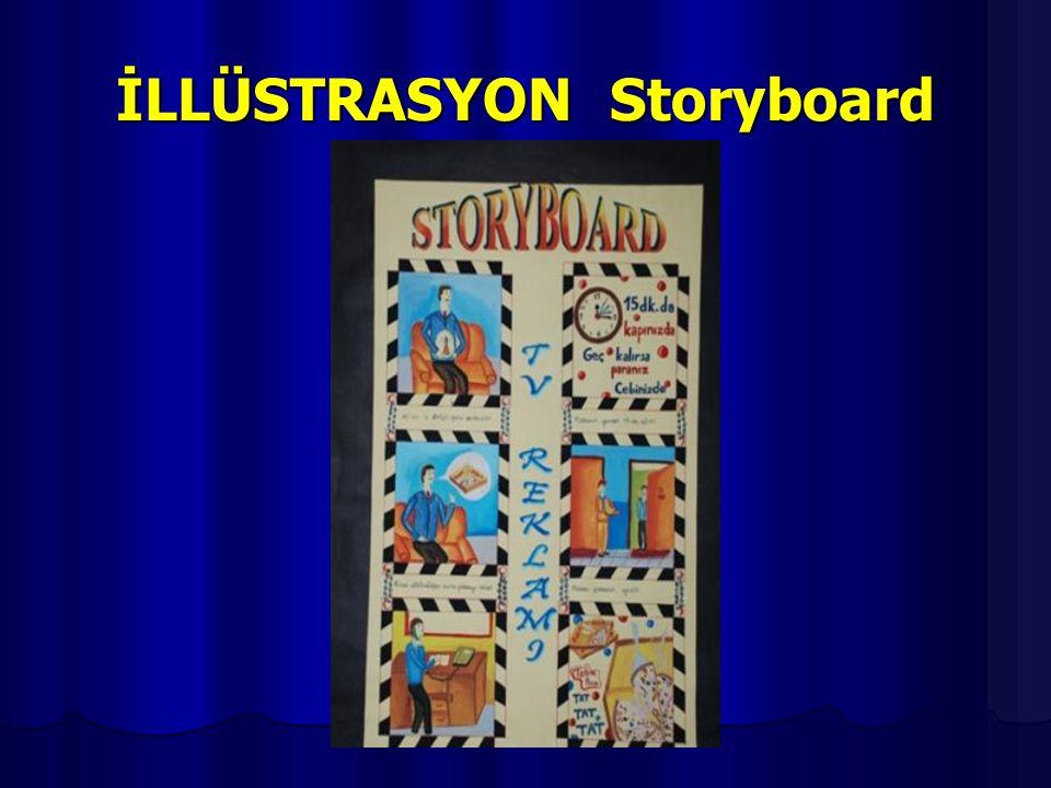 İLLÜSTRASYON Storyboard