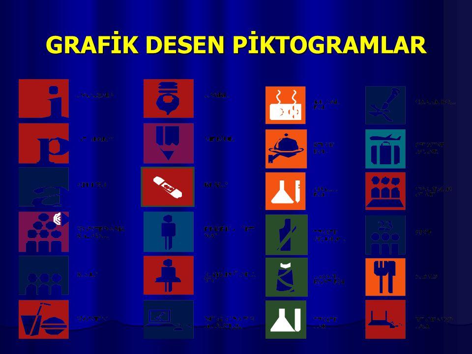 GRAFİK DESEN PİKTOGRAMLAR