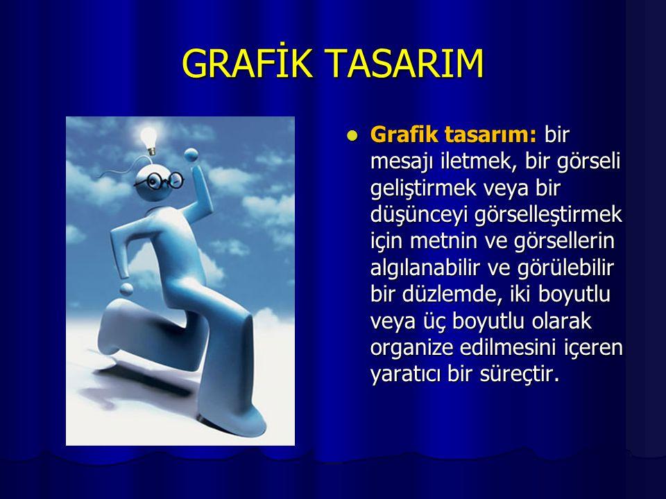 GRAFİK TASARIM