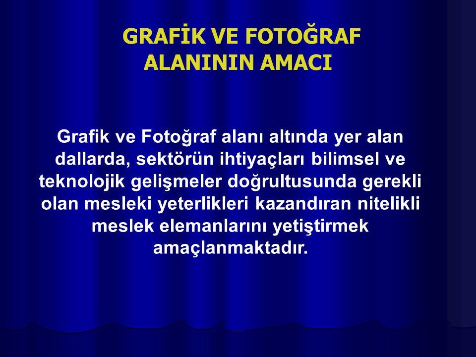 GRAFİK VE FOTOĞRAF ALANININ AMACI