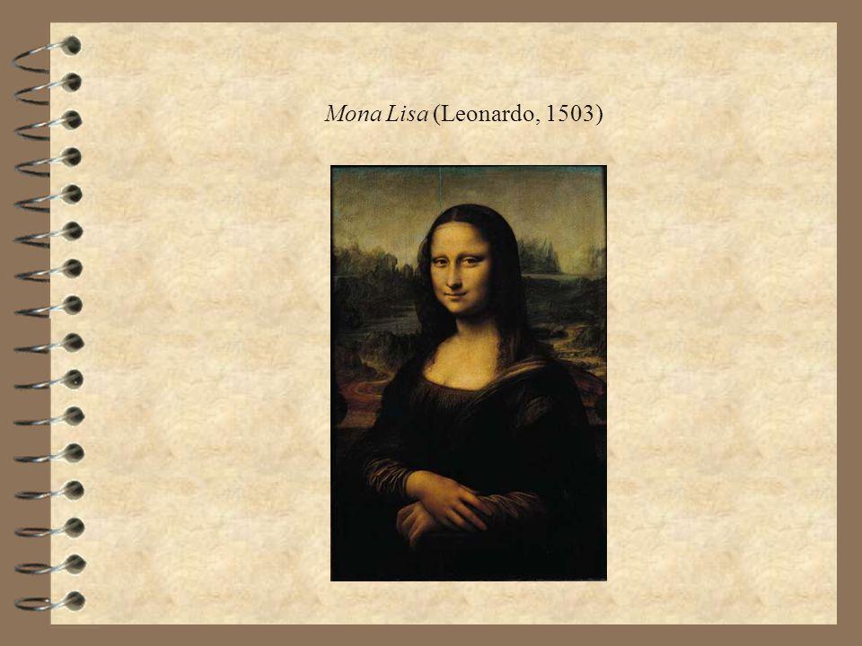 Mona Lisa (Leonardo, 1503)
