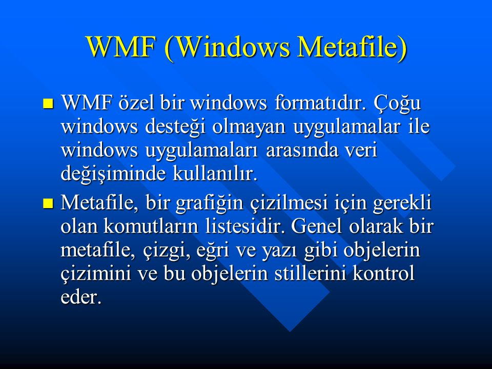 WMF (Windows Metafile)