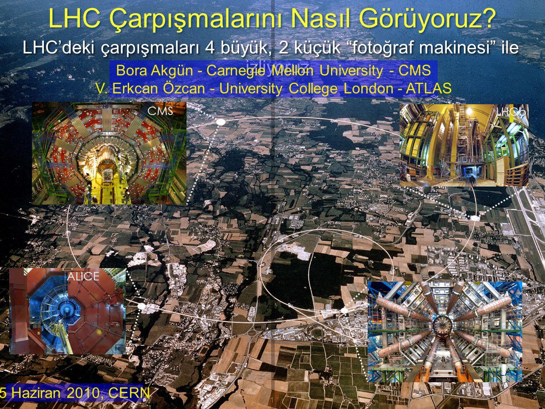 LHC Çarpışmalarını Nasıl Görüyoruz