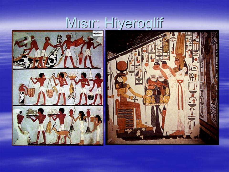 Mısır: Hiyeroglif