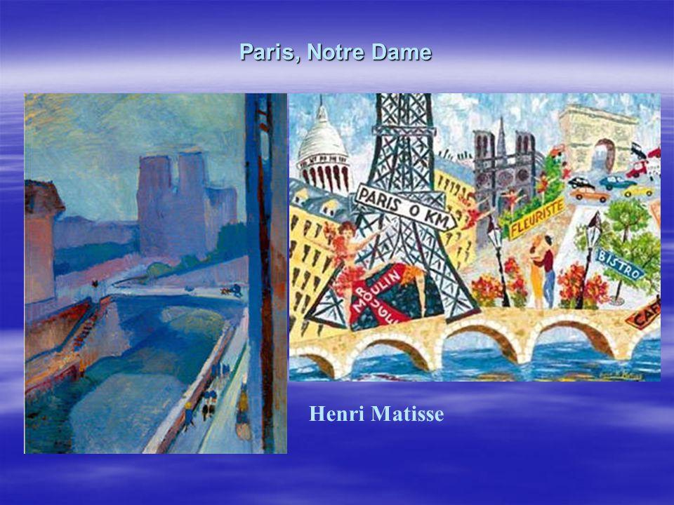 Paris, Notre Dame Henri Matisse