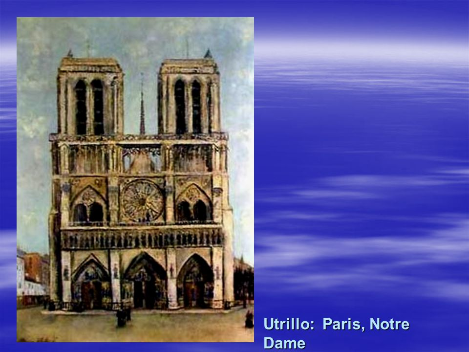 Utrillo: Paris, Notre Dame