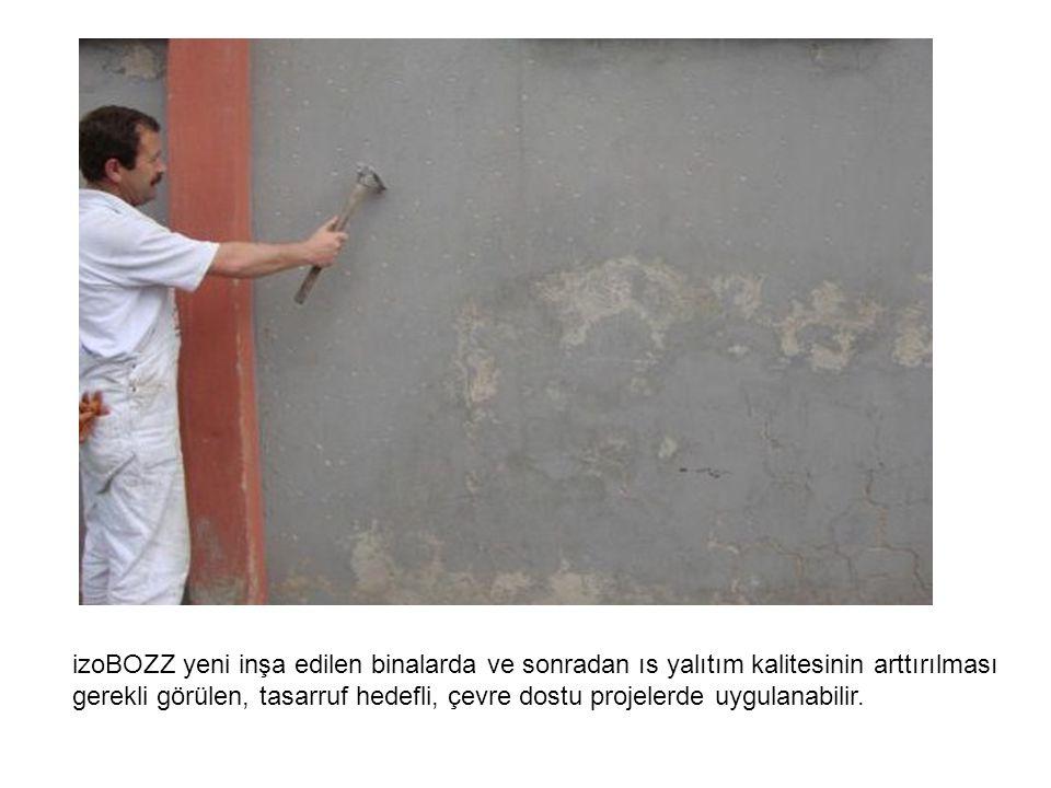 izoBOZZ yeni inşa edilen binalarda ve sonradan ıs yalıtım kalitesinin arttırılması