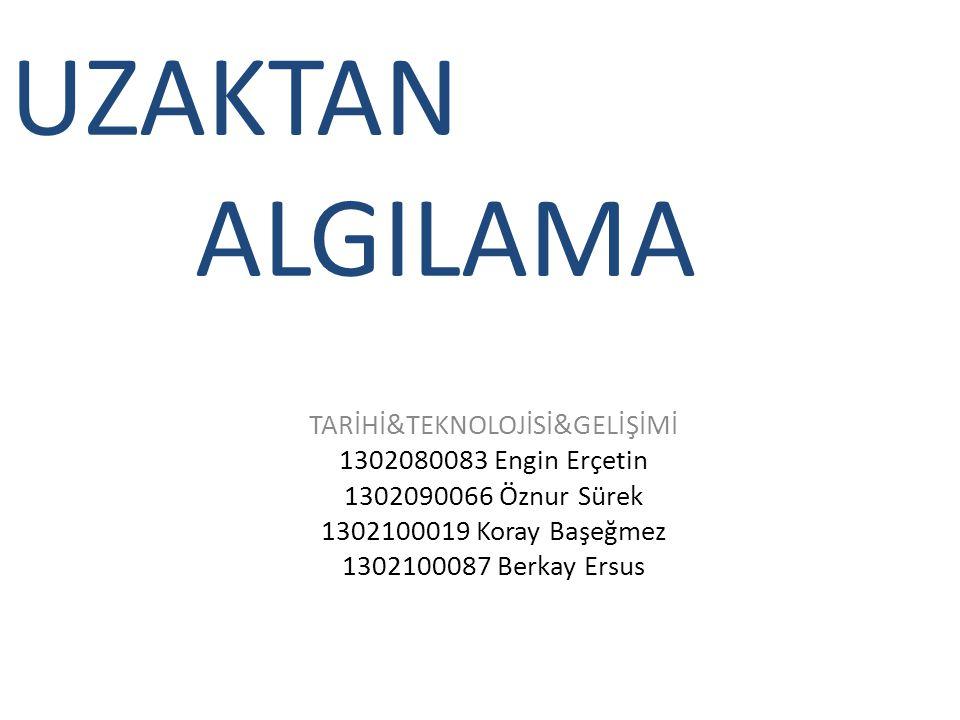 TARİHİ&TEKNOLOJİSİ&GELİŞİMİ
