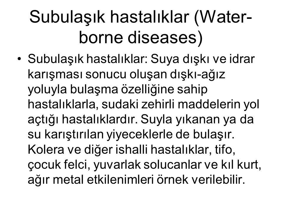 Subulaşık hastalıklar (Water-borne diseases)