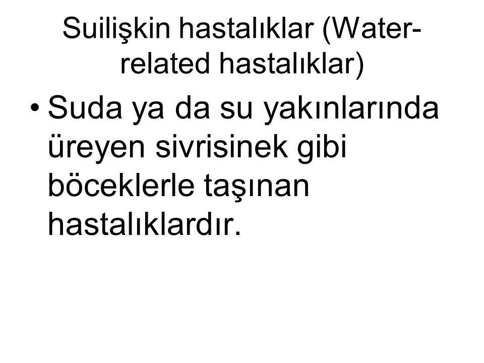 Suilişkin hastalıklar (Water-related hastalıklar)