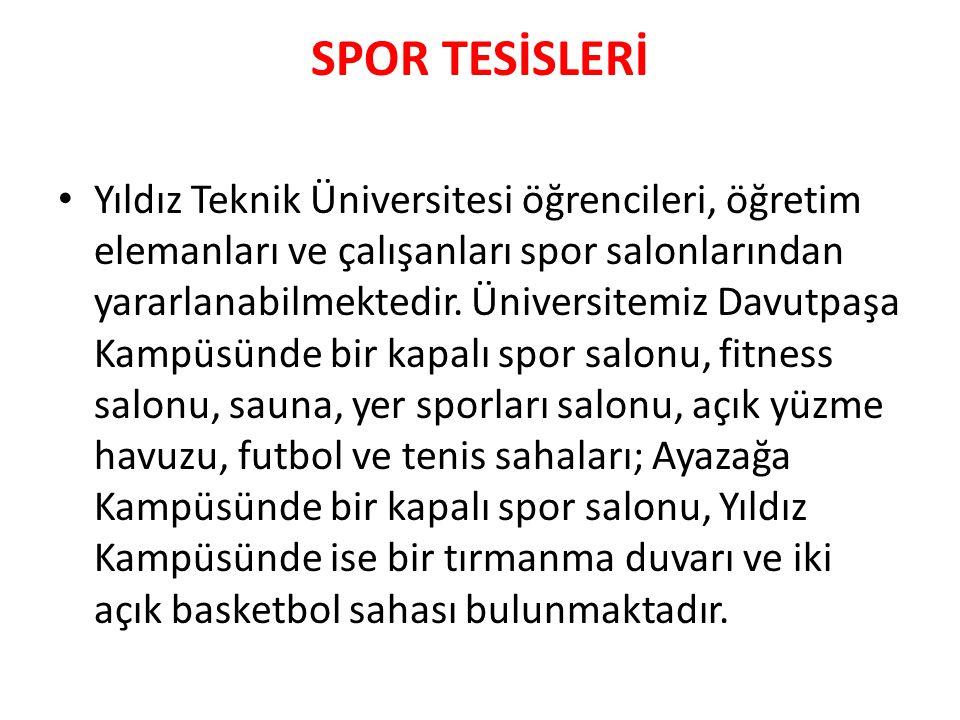 SPOR TESİSLERİ