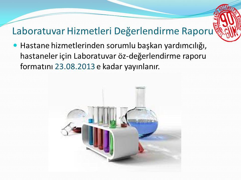 Laboratuvar Hizmetleri Değerlendirme Raporu