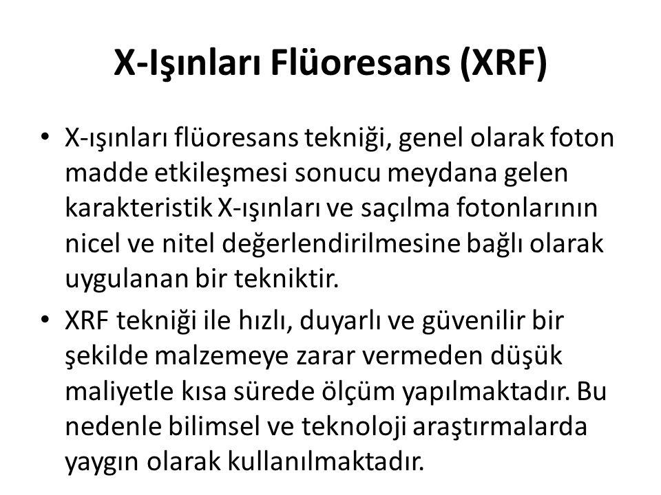 X-Işınları Flüoresans (XRF)