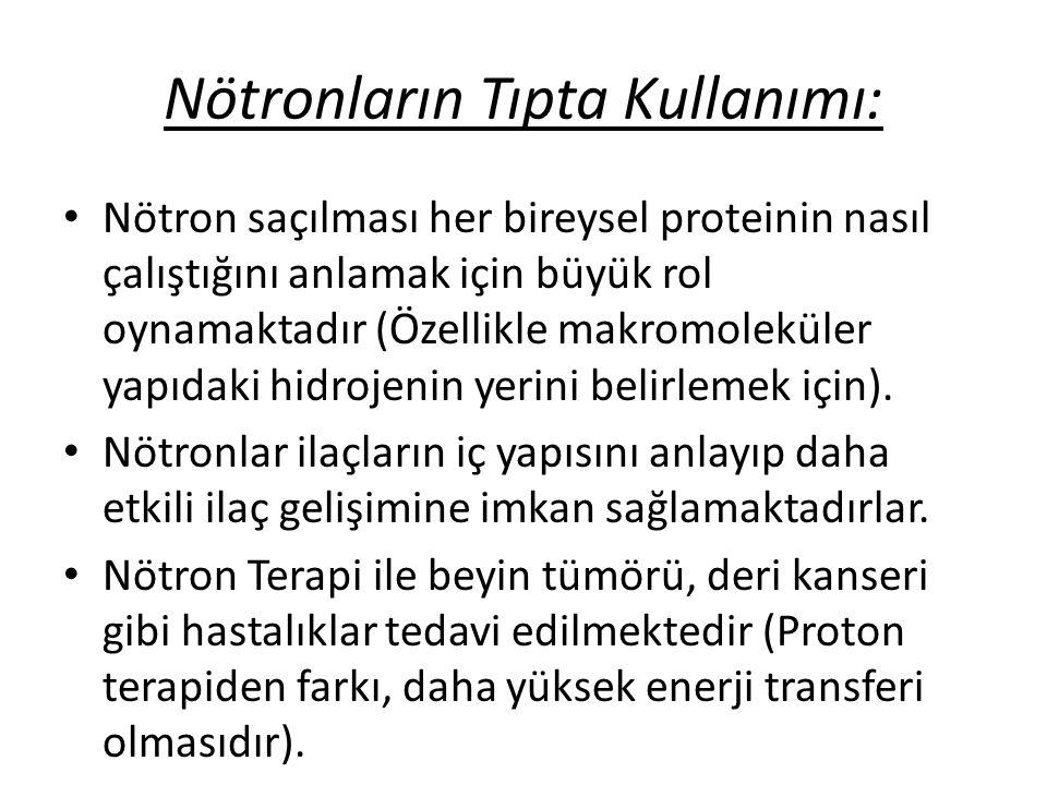 Nötronların Tıpta Kullanımı: