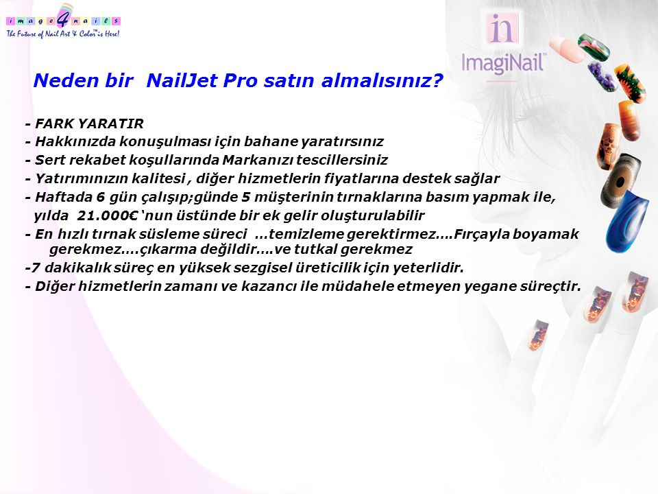 Neden bir NailJet Pro satın almalısınız