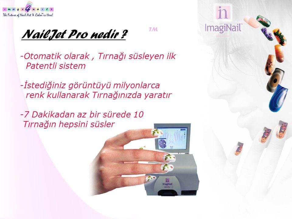 NailJet Pro nedir -Otomatik olarak , Tırnağı süsleyen ilk
