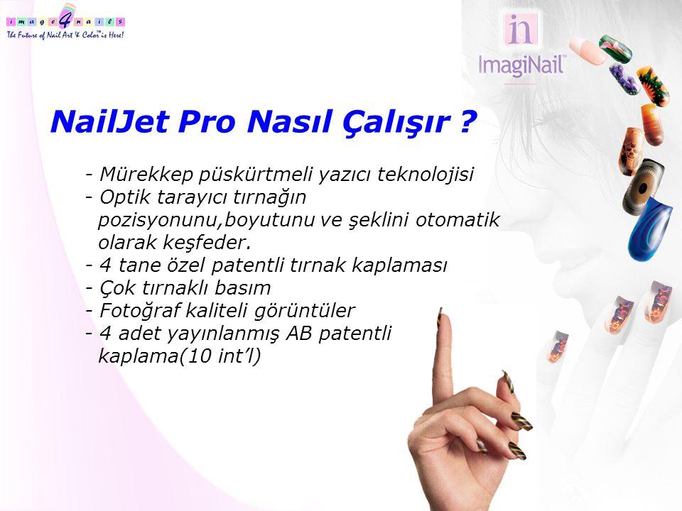 NailJet Pro Nasıl Çalışır