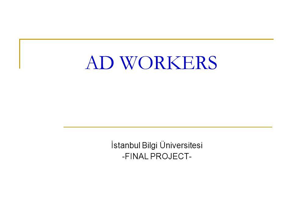 İstanbul Bilgi Üniversitesi -FINAL PROJECT-