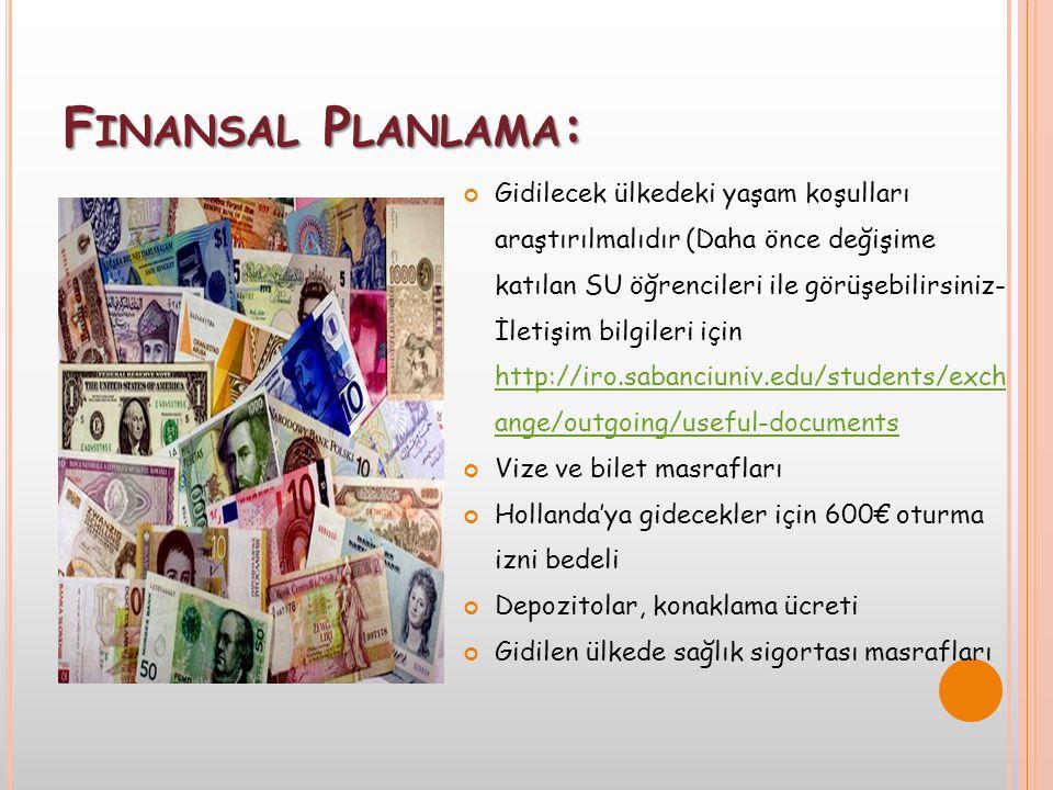 Finansal Planlama: