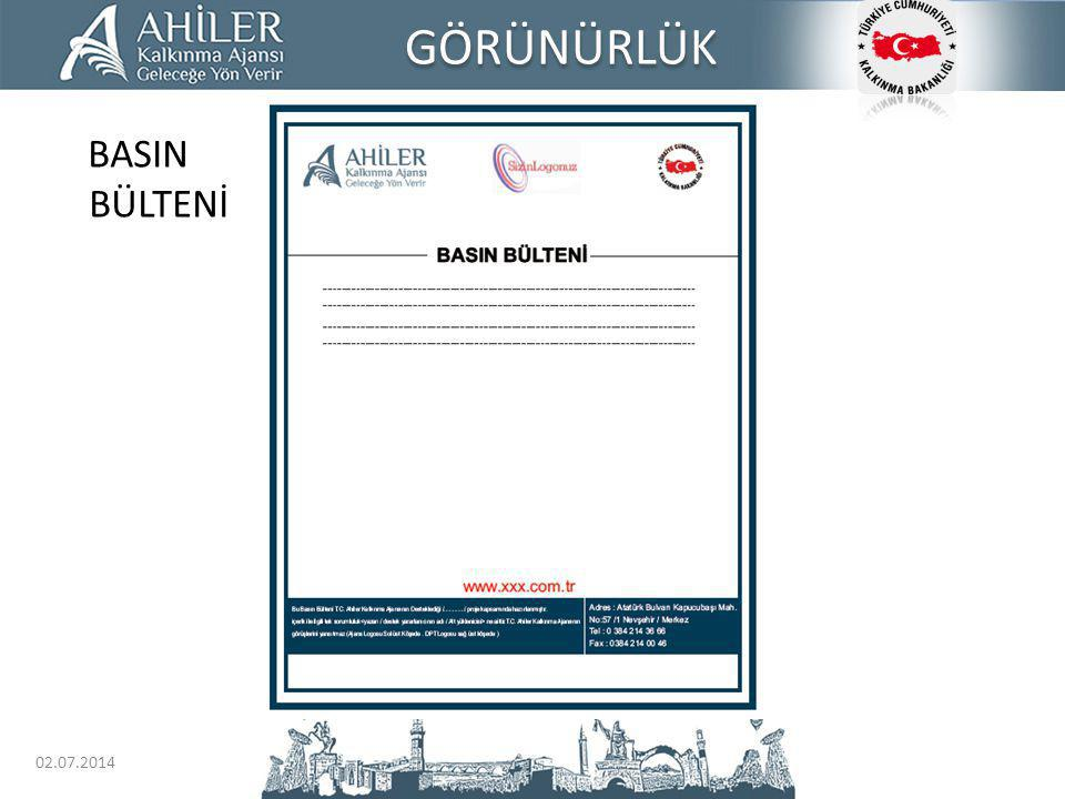 GÖRÜNÜRLÜK BASIN BÜLTENİ 03.04.2017