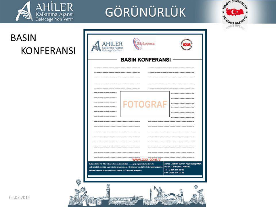 GÖRÜNÜRLÜK BASIN KONFERANSI 03.04.2017