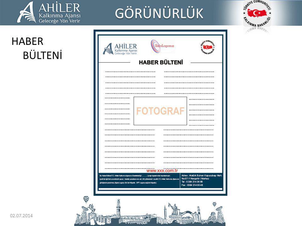 GÖRÜNÜRLÜK HABER BÜLTENİ 03.04.2017