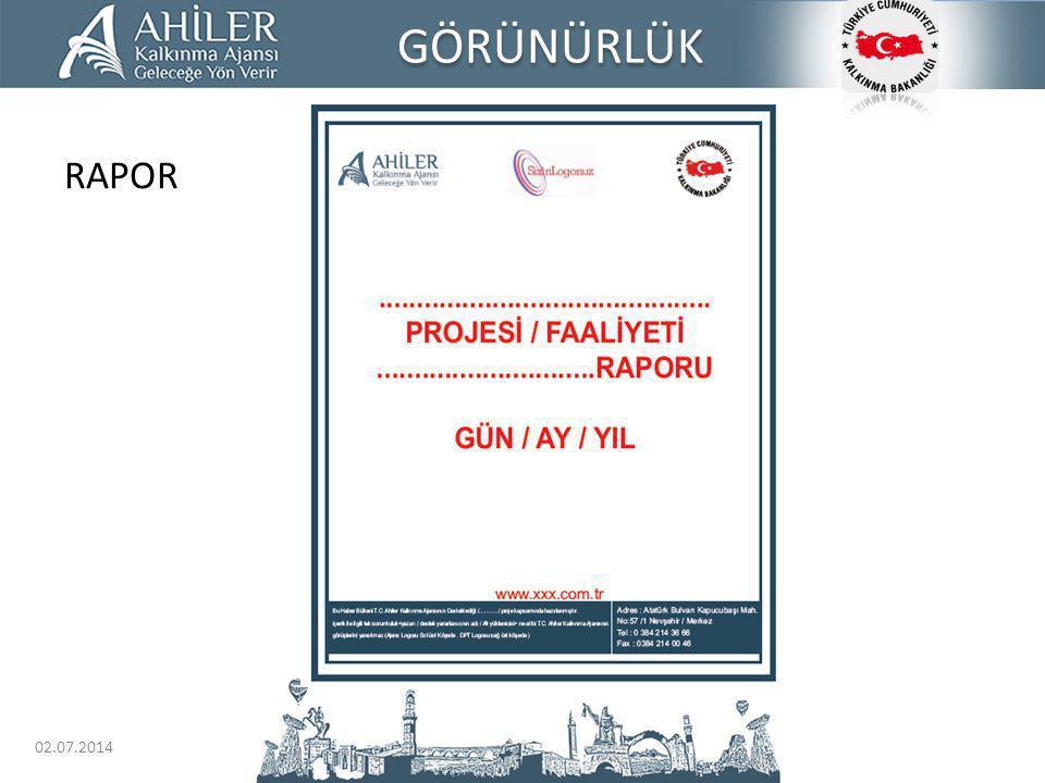 GÖRÜNÜRLÜK RAPOR 03.04.2017