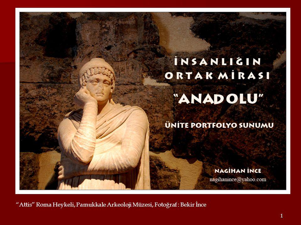 Attis Roma Heykeli, Pamukkale Arkeoloji Müzesi, Fotoğraf : Bekir İnce