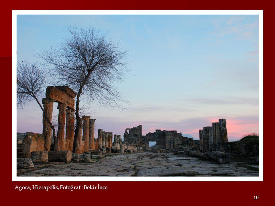 Agora, Hierapolis, Fotoğraf : Bekir İnce
