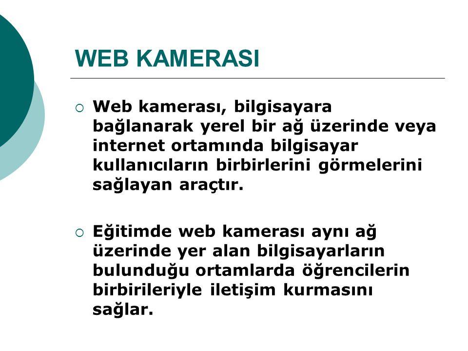 WEB KAMERASI