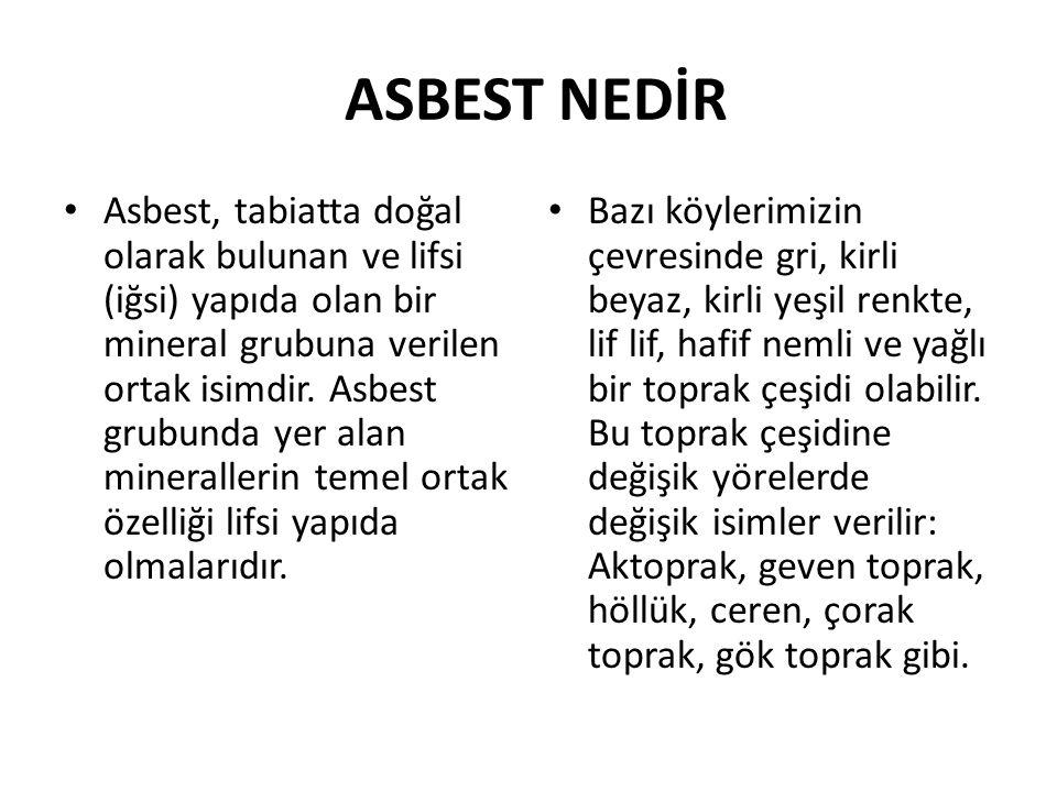 ASBEST NEDİR