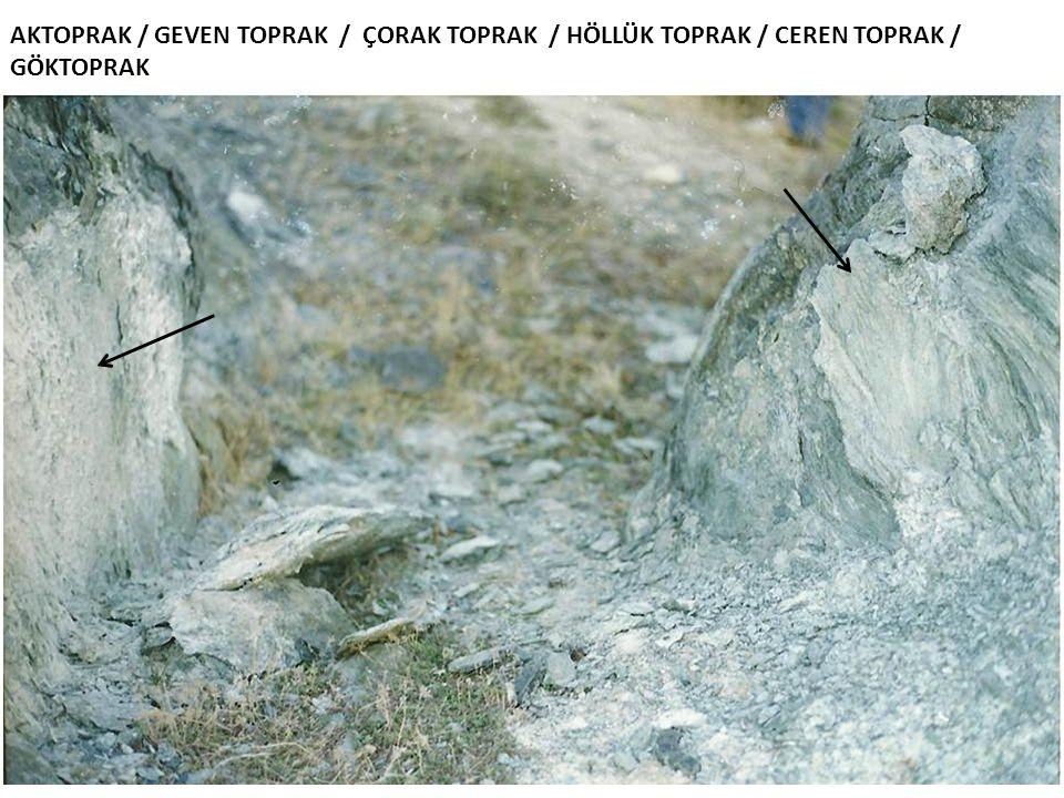 AKTOPRAK / GEVEN TOPRAK / ÇORAK TOPRAK / HÖLLÜK TOPRAK / CEREN TOPRAK / GÖKTOPRAK
