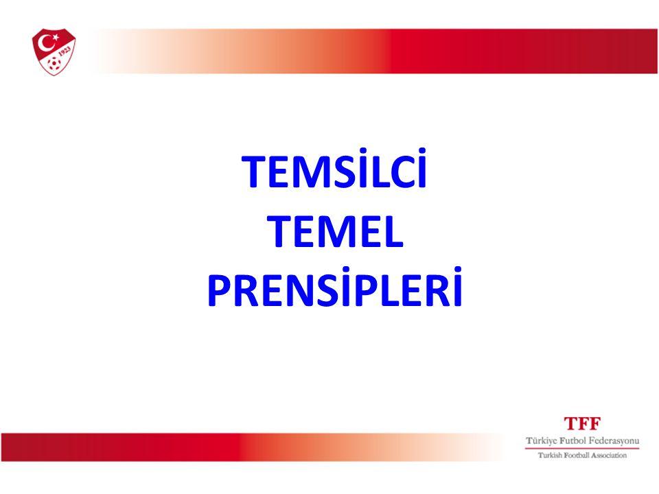 TEMSİLCİ TEMEL PRENSİPLERİ