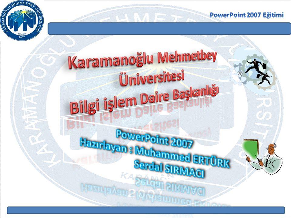 Karamanoğlu Mehmetbey Üniversitesi Bilgi işlem Daire Başkanlığı