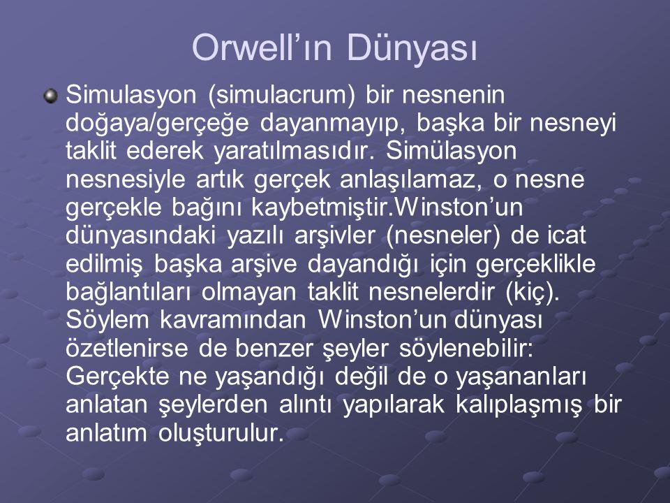 Orwell'ın Dünyası