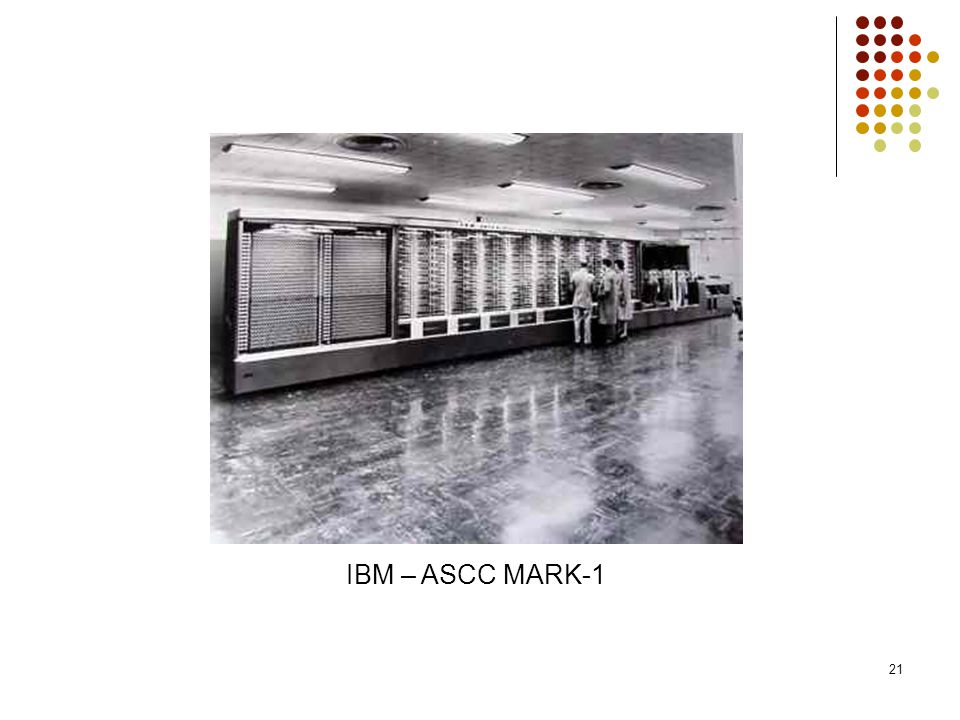 IBM – ASCC MARK-1