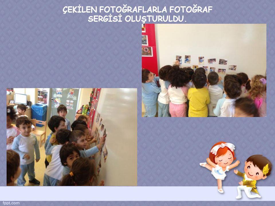 ÇEKİLEN FOTOĞRAFLARLA FOTOĞRAF SERGİSİ OLUŞTURULDU.