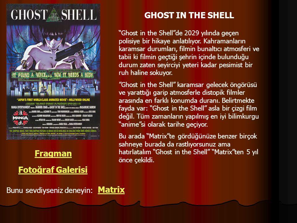 GHOST IN THE SHELL Fragman Fotoğraf Galerisi Matrix