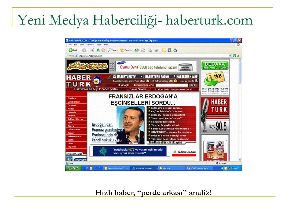 Yeni Medya Haberciliği- haberturk.com
