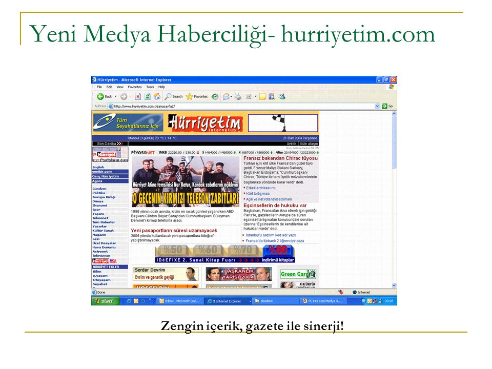 Yeni Medya Haberciliği- hurriyetim.com