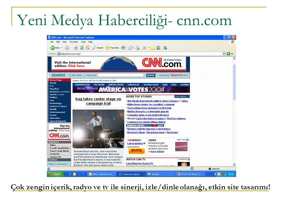Yeni Medya Haberciliği- cnn.com