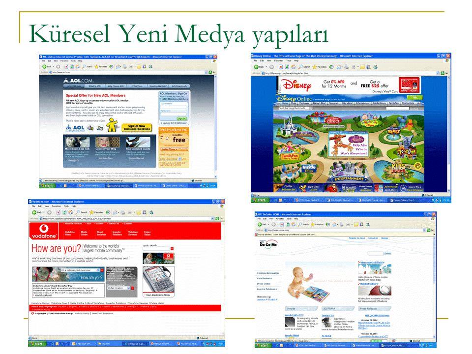 Küresel Yeni Medya yapıları