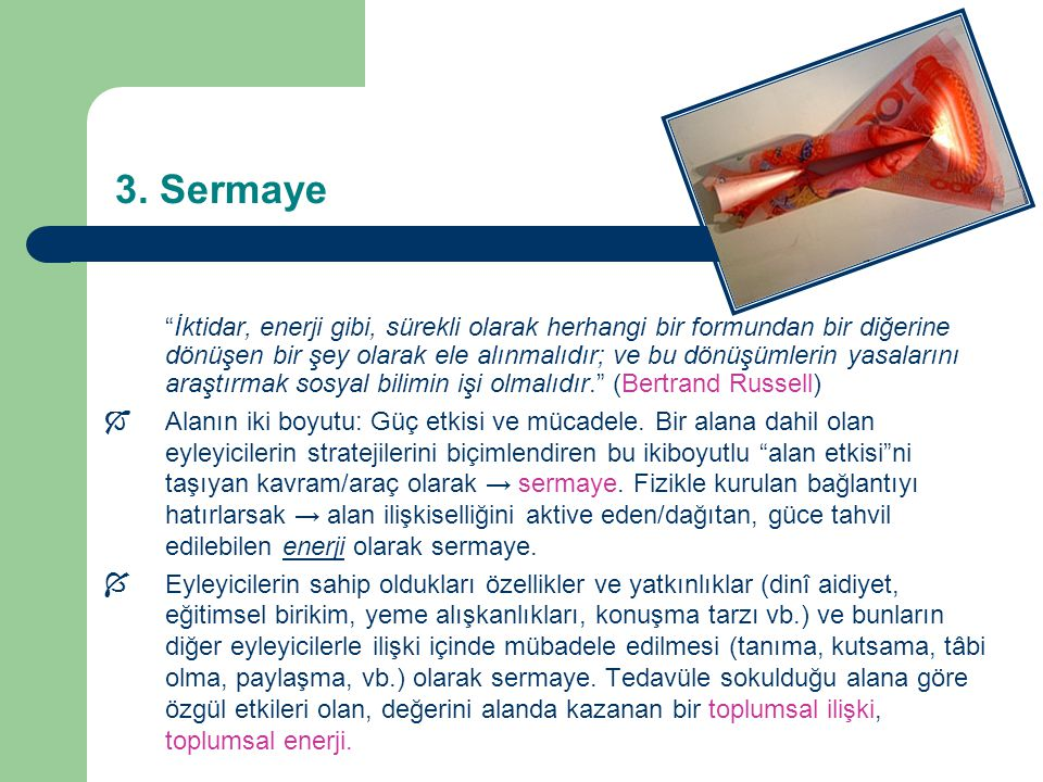 3. Sermaye