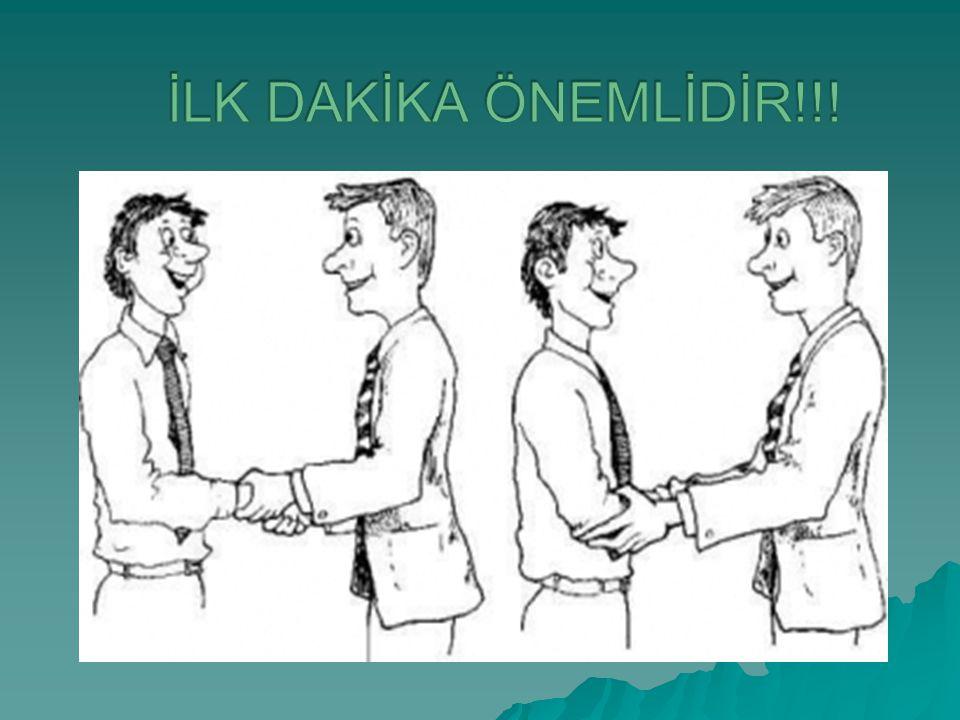 İLK DAKİKA ÖNEMLİDİR!!!