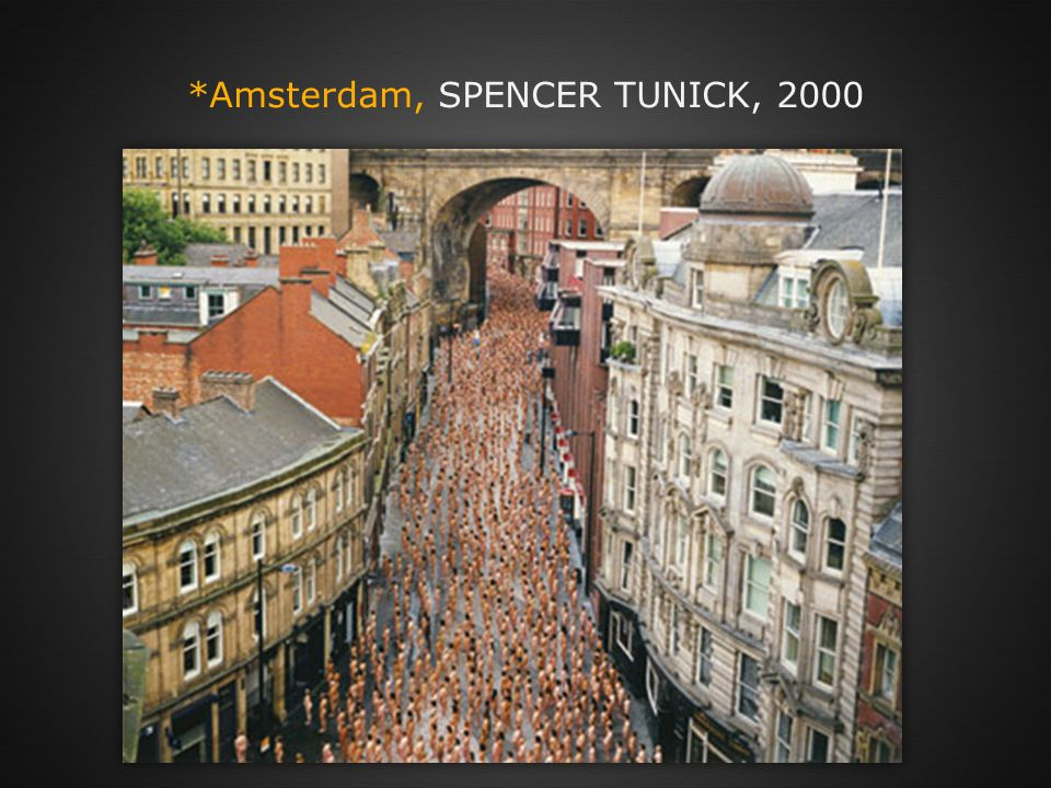 *Amsterdam, SPENCER TUNICK, 2000