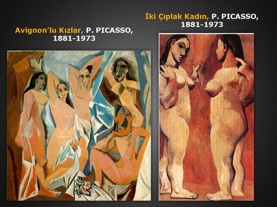 İki Çıplak Kadın, P. PICASSO, 1881-1973