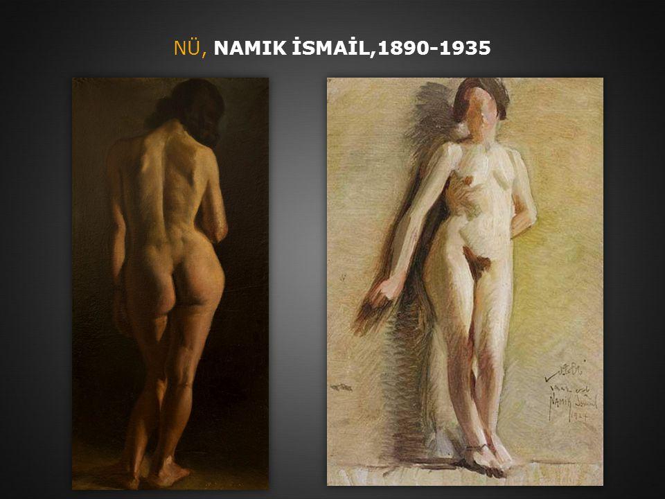 NÜ, NAMIK İSMAİL,1890-1935