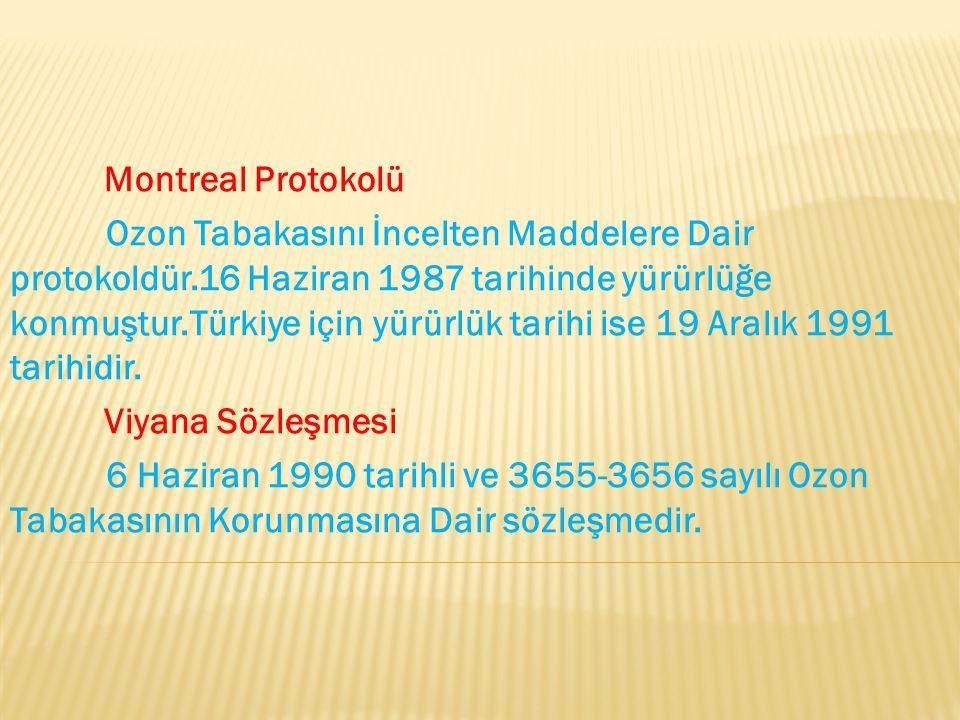Montreal Protokolü