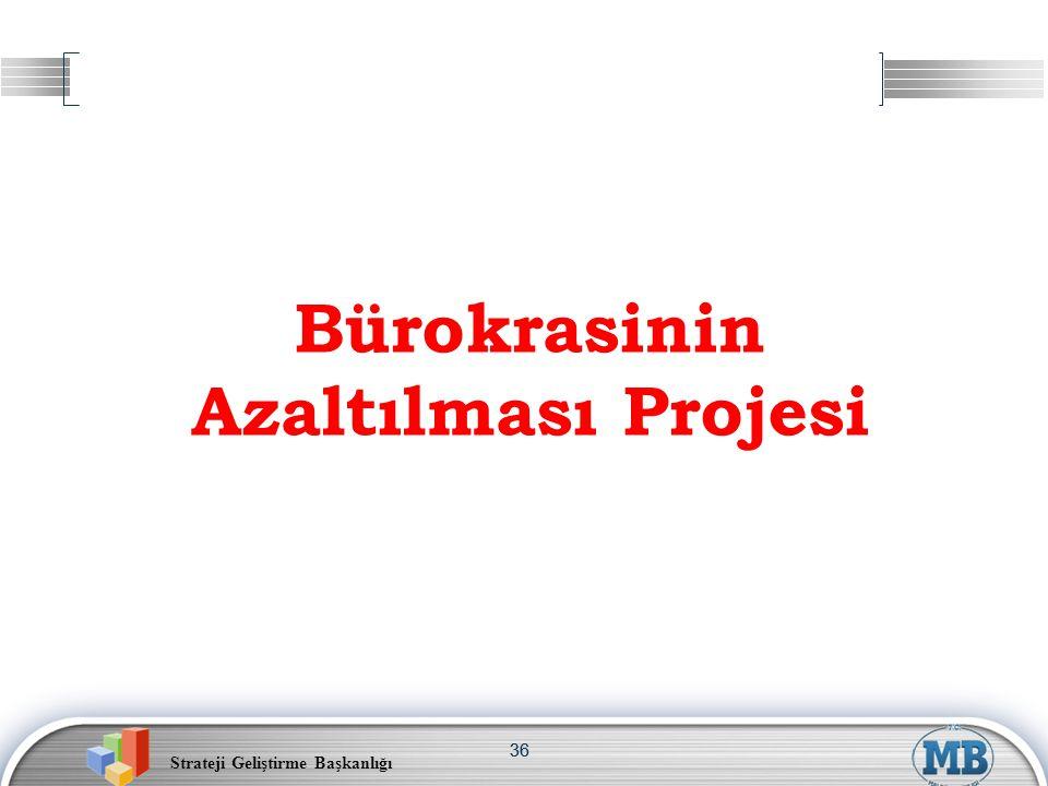 Bürokrasinin Azaltılması Projesi