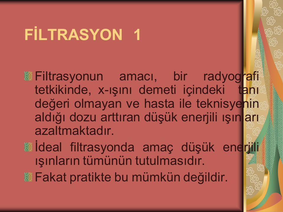 FİLTRASYON 1